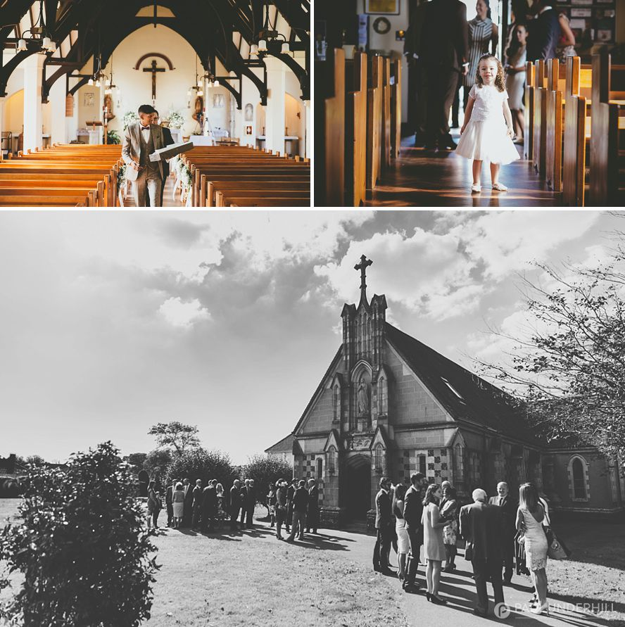 Dorset wedding photography  Catholic marriage  Highcliffe Castle celebration  Paul Underhill