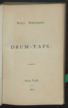 Drum Taps Title Page ppp.01866.006