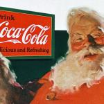 Santa Claus is largely an invention of the coca-cola corporation