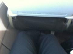 Decent legroom on Jetstar flights.