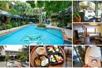 墾丁泳池住宿 承億文旅墾丁雅客小半島~墾丁大街旁享受綠意泳池,彷彿在泰國