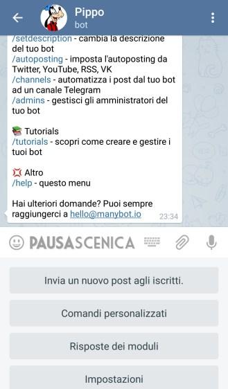 PippoPlutoPaperino - Menu