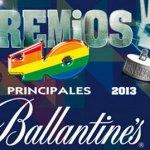 #Premios40Principales 2013: Conoce todos los ganadores