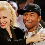 Gwen Stefani y Pharrell Williams en el vídeo de 'Spark The Fire'