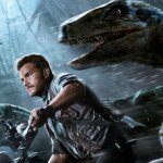 Personas haciendo de dinosaurios en 'Jurassic World'. Así son sus efectos digitales.