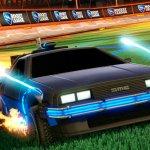 El DeLorean de 'Back to the Future' llega a 'Rocket League' como DLC