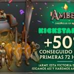 Amber Chronicles of Lhür logra el 50% de su objetivo en Kickstarter en menos de 72 horas