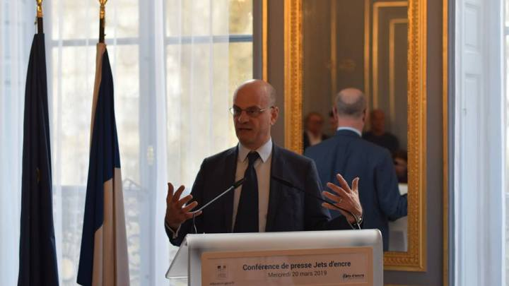 A la rencontre de Jean-Michel Blanquer au ministère de l'Education nationale