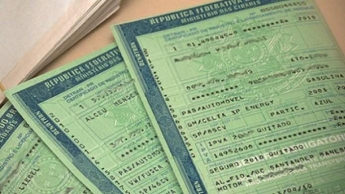Pagamento do IPVA de placa com final 6 e comprovação de isenção devem ser antecipados em junho