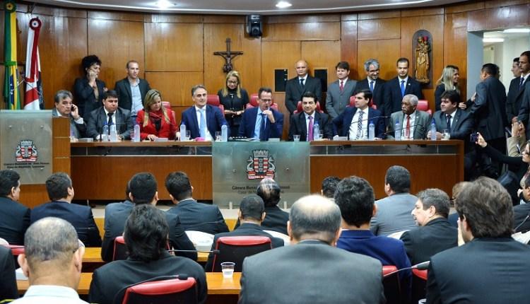 CMJP faz treinamento para elaboração de emendas à LDO e entrega três honrarias