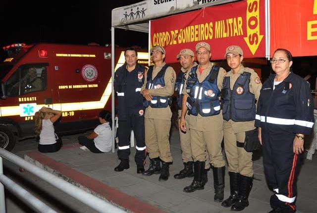 Corpo de Bombeiros realiza operação durante a Romaria da Penha