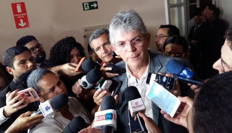 Ricardo volta a afirmar que a oposição não tem projeto político a não ser pessoal