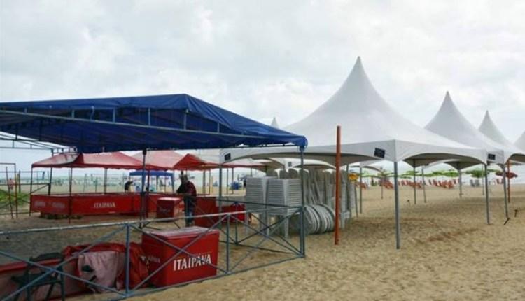 PMJP inicia cadastro de famílias que queiram instalar tendas na praia no Réveillon