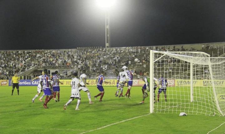 Pela Copa do Nordeste, Botafogo-PB perde em casa por 2 a 1 para o Bahia