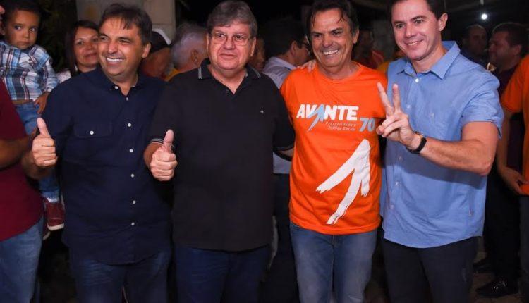 João é recebido por lideranças de Juazeirinho e de 20 municípios paraibanos