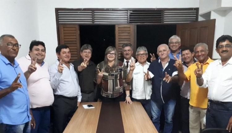 Prefeita de Riachão do Poço anuncia apoio à pré-candidatura de João Azevedo