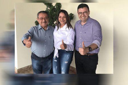 Ao lado de Maranhão, Raniery Paulino recebe apoio da vice-prefeita de Rio Tinto