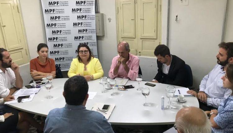 MPF reúne Funasa, Cagepa, Energisa e prefeitura para solucionar problema de esgoto em Monteiro