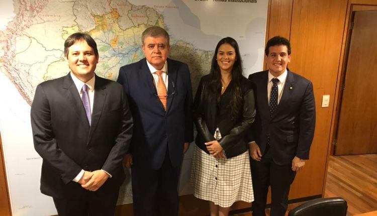 OUÇA: após o São João, André Amaral e Dinaldinho estão em Brasília em busca de recursos