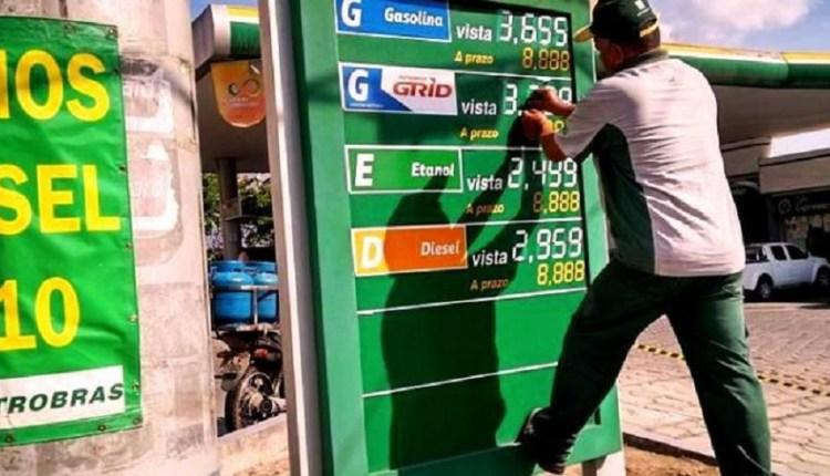 Postos que não baixar o preço do diesel, deverá ser interditado