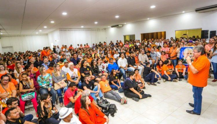 João diz que sua candidatura representa a continuidade e o avanços que a Paraíba precisa