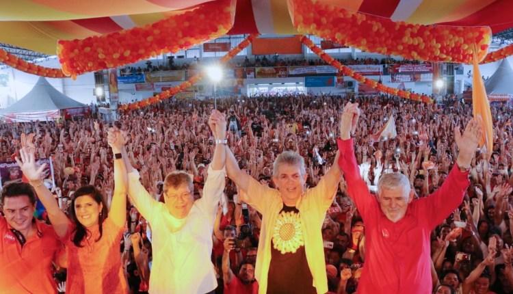 Convenção do PSB reúne multidão e homologa candidaturas de João, Lígia, Veneziano e Luiz Couto