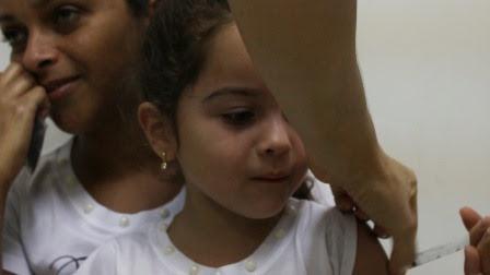 Campina Grande atinge mais da metade da meta da campanha de vacinação de sarampo e pólio
