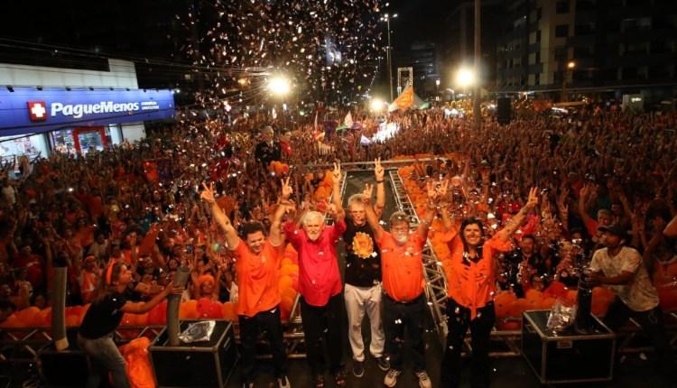 Girassoca arrasta multidão em João Pessoa