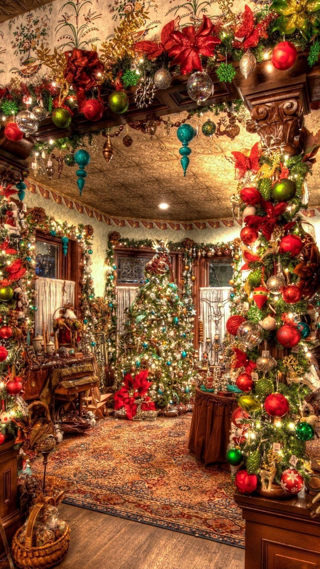 How To Create Your Own Live Wallpaper Iphone X Victorian Christmas Wallpapers 52 Background Pictures