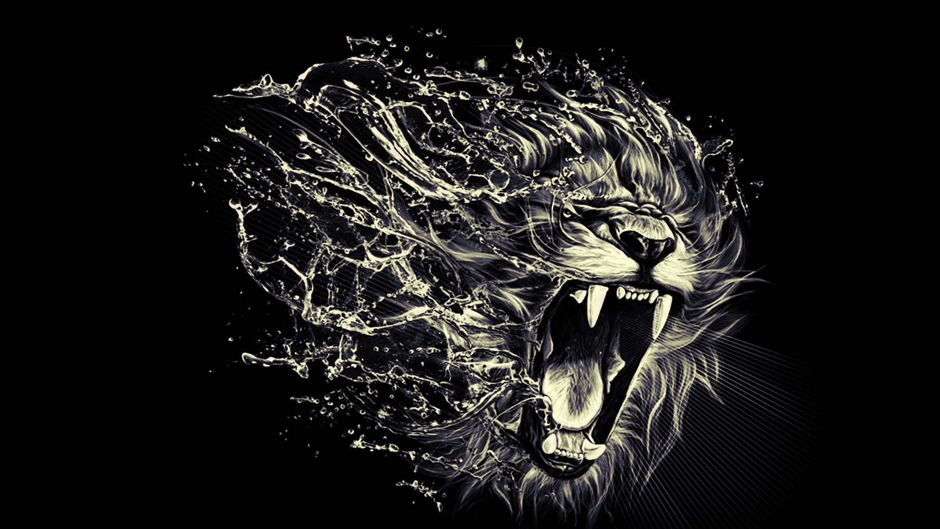 angry lion eyes wallpapers