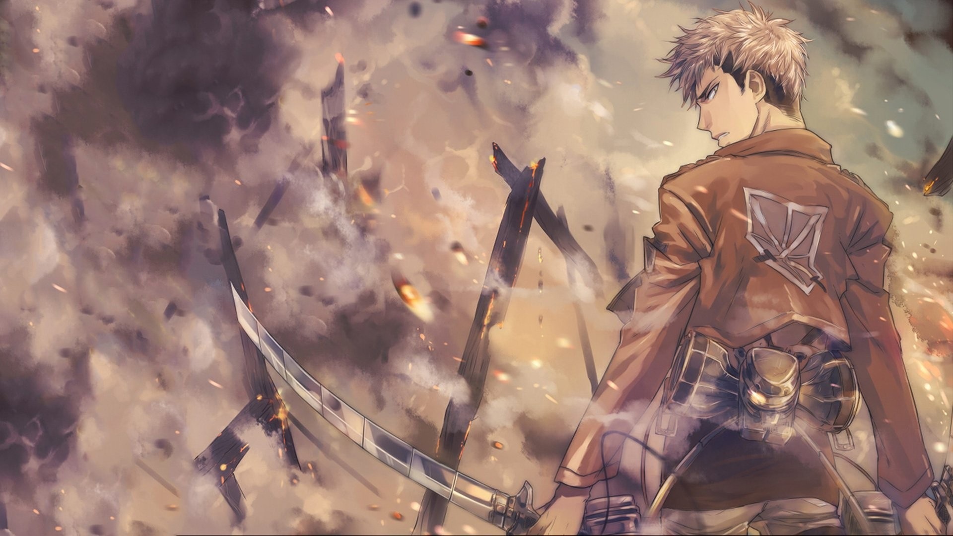 The tv adaptation of hajime isayama's critically acclaimed manga series attack on titan is one of the most popular shows among anime fans. Attack On Titan Wallpapers (76+ background pictures)