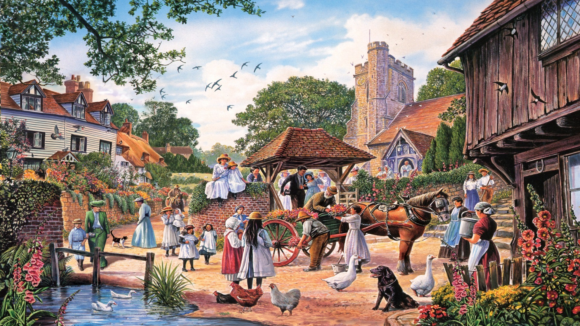 village wallpapers 68 background