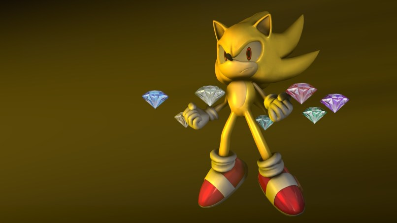 Hyper Sonic The Hedgehog Wallpapers 70 Background Pictures