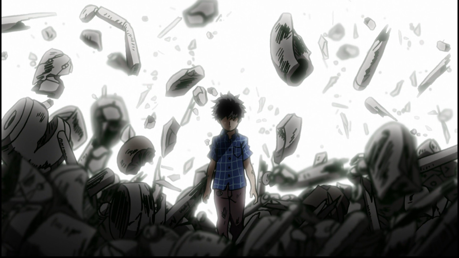 Dark Theme Wallpaper Hd Quote Mob Psycho 100 Wallpapers 82 Background Pictures