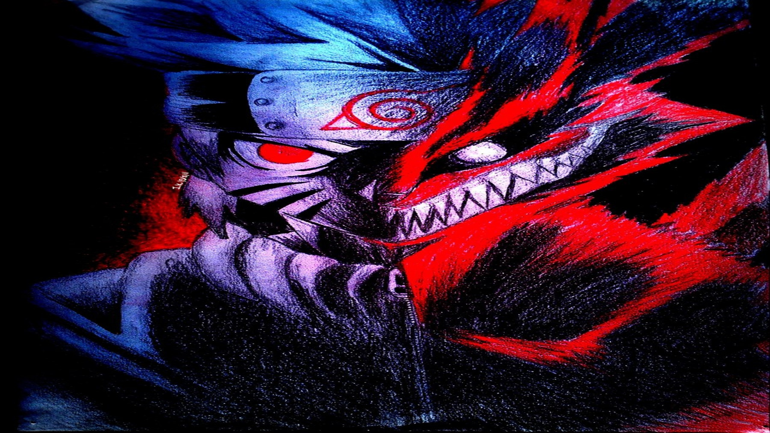 Naruto Kyuubi Mode Wallpaper Hd Naruto Nine Tailed Fox Wallpapers 61 Background Pictures