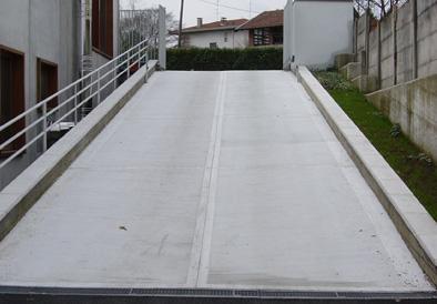 Rampe rigate per accessi di box e parcheggi  PAVEDIL
