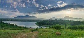 Панорама недалеко от г. Змейка