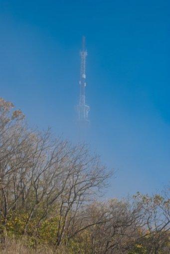 Телевышка в тумане