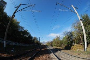 Железная дорога - тест объектива Tokina 10-17 fisheye