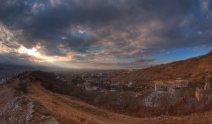 Гора Горячая, вид на город