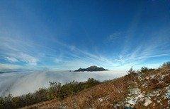 Панорамное фото с вершины Машука. Фото Пятигорска.