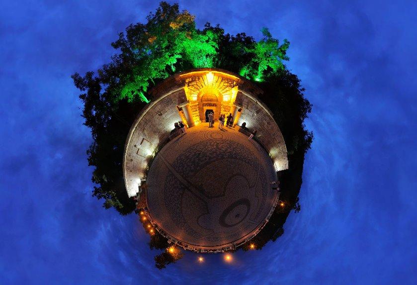 Сферическая фотография - Пятигорский Провал