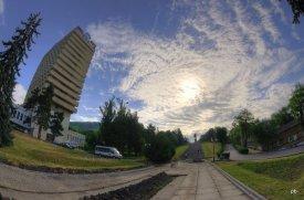 По пути к памятнику Ленину