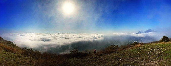 Панорама на вершине Машука