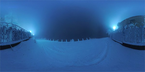 Зимняя панорама на Машуке