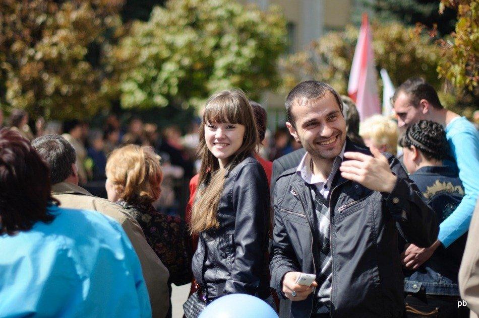 Парад Победы 9 мая в Пятигорске