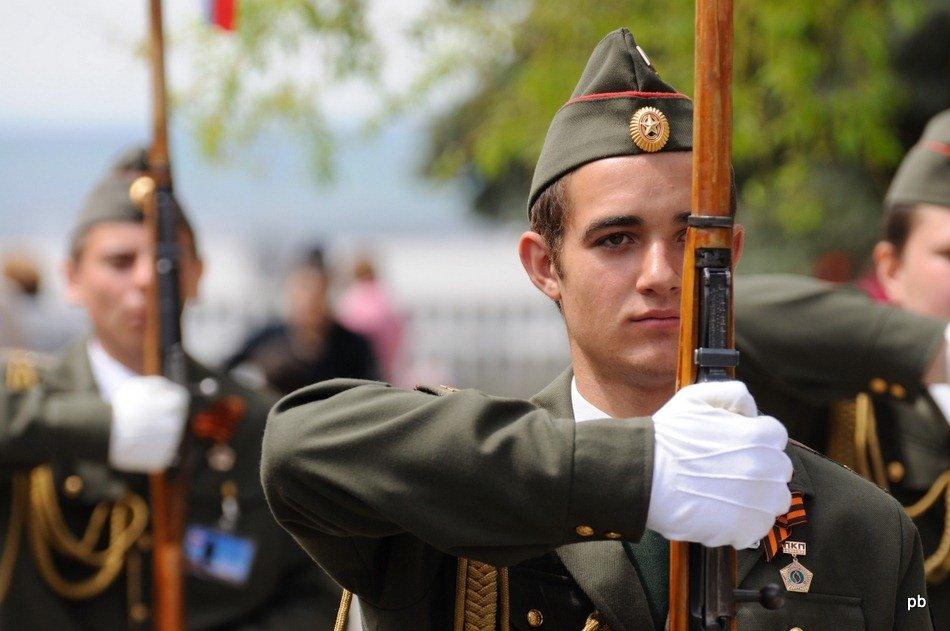 9 мая 2011 в Пятигорске. Фото.