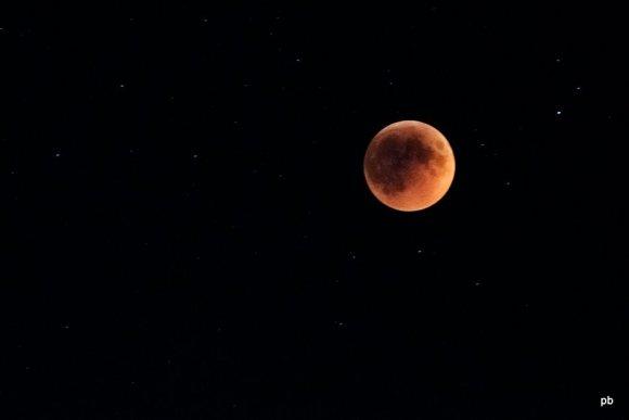 Лунное затмение в Пятигорске