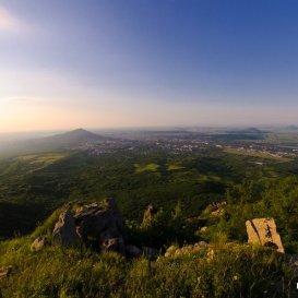 Вид на Пятигорск с Лисьего носа