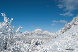 Бештау зимой